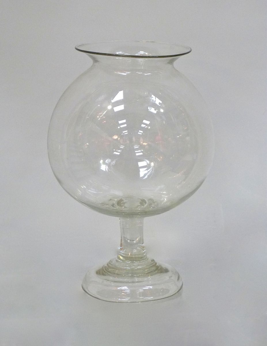 A 19c glass fish bowl stock blanchard collective for Glass fish bowls