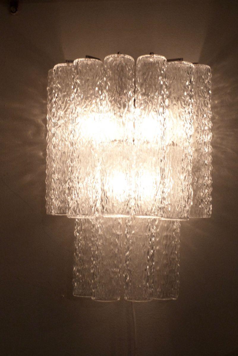 Glass Tube Wall Lights : A Set of 4 20C Italian Glass Tube Tronchi Wall Lights - Stock - Blanchard Collective ...