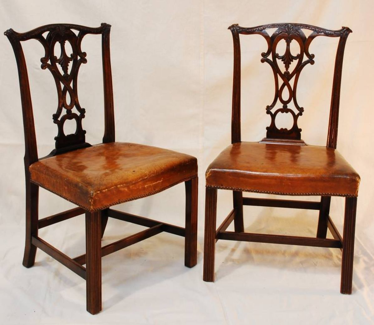 Marlborough Dining Set: Chippendale Style Dining Chairs
