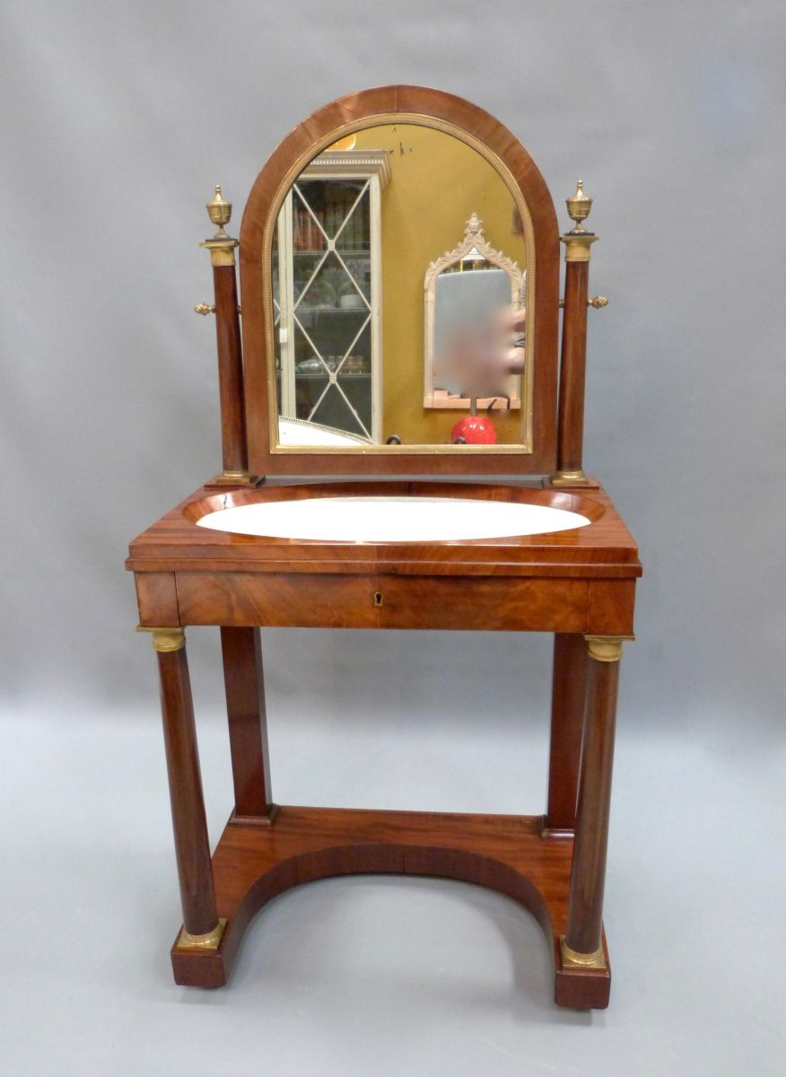 A French Empire Style Dressing Table Stock Blanchard
