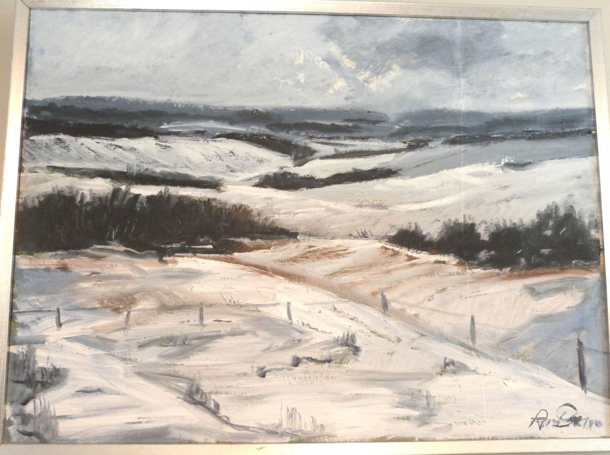 A Danish Winter Landscape Stock Blanchard Collective