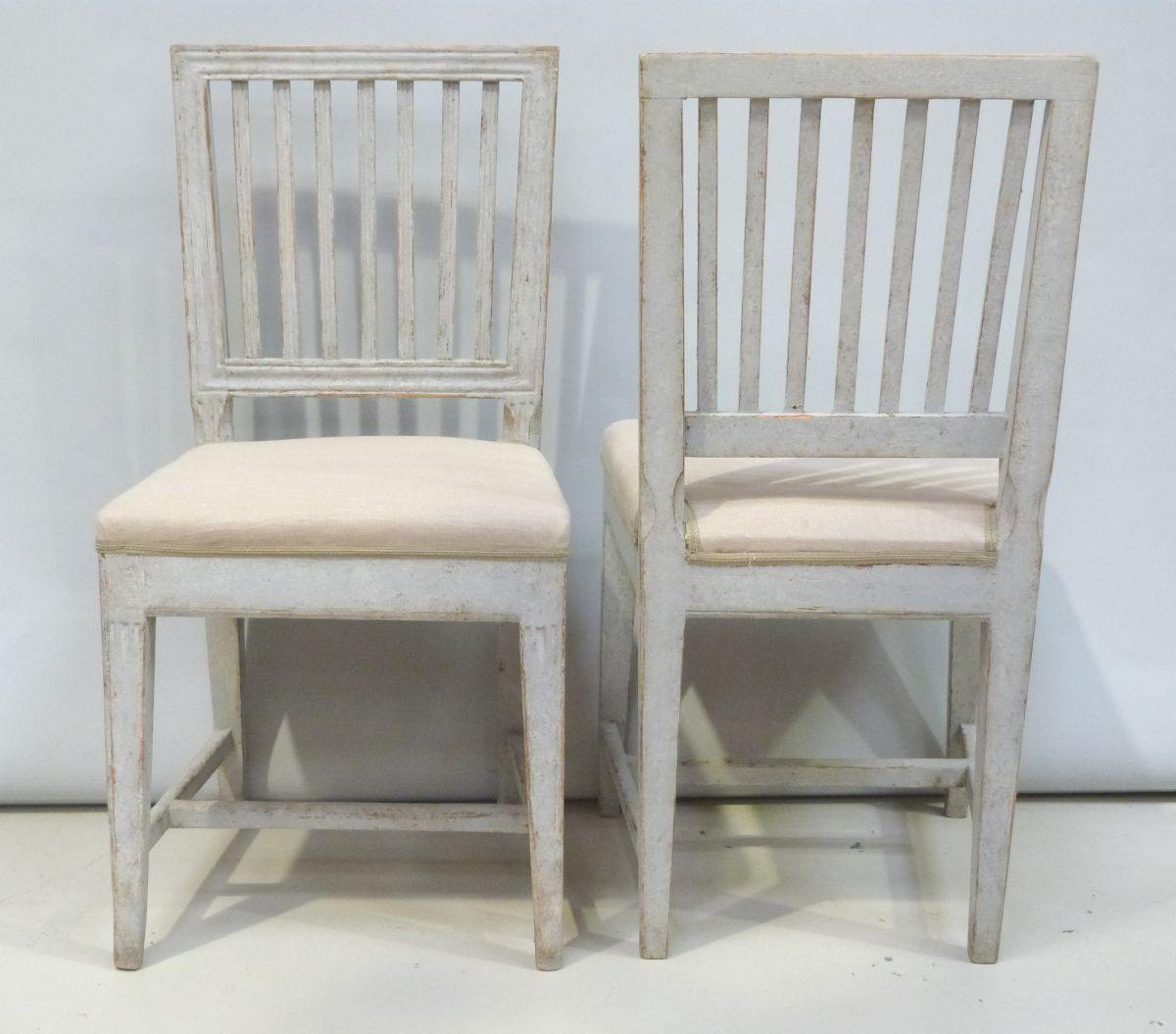 Swedish Leksand Dining Chairs Circa 1800 High Res Images